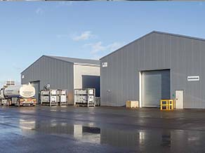 Foto: HALTEC BASIC Lagerhallen