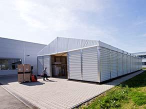 Foto: HALTEC BASIC Leichtbauhallen
