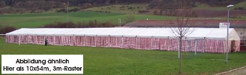Foto: Gebrauchtes Zelt 20 x 40 m