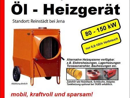 Foto: Öl - Heizgerät