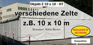 Foto: Zelte z.B. 10 x 10 m NEU