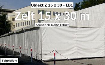 Foto: Zelt, Lagerzelt 15 x 30 m