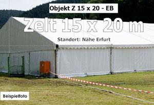 Foto: Lagerzelt, Zelt 15x20m