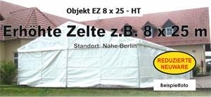 Foto: Zelte z.B. 8 x 25 x 3 m NEU