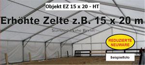 Festzelt, Zelt 15x20m 15 x 20 x 2,40m , Gebrauchsspuren