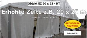 Foto: Erhöhte Zelte z.B. 20x25m NEU