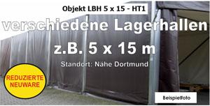 Foto: Lagerzelte z.B. 5x15m NEU