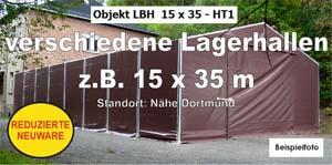 Foto: Lagerhallen z.B. 15x35m NEU