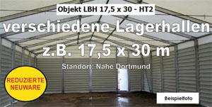 Foto: Lagerhallen z.B. 17,5x30 m NEU